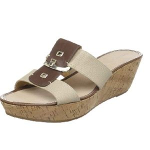 Nine West Women's Heartful Wedge Sandal,